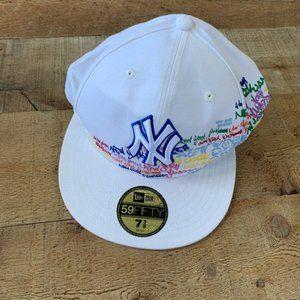 NY Yankees Word Up Baseball Hat